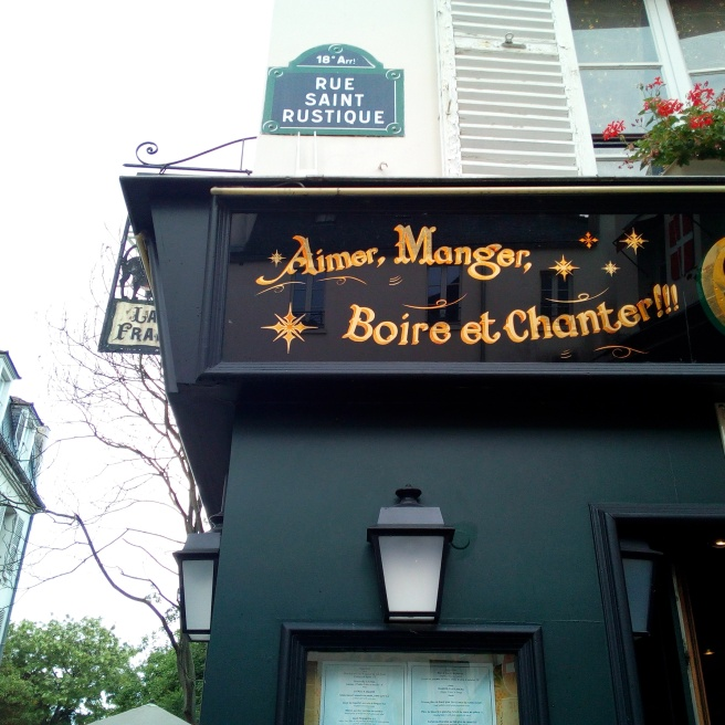 Rue Saint Rustique, Montmartre Paris