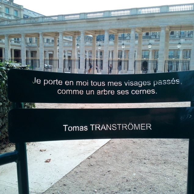 Les Confidents du Jardin du Palais-Royal à Paris