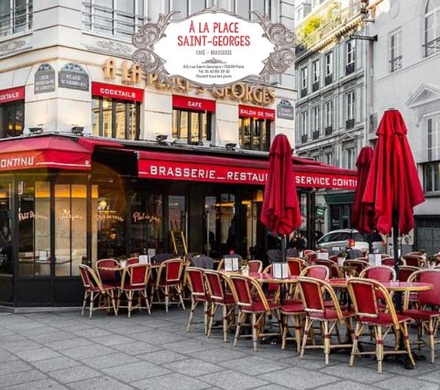 A la Place Saint-Georges