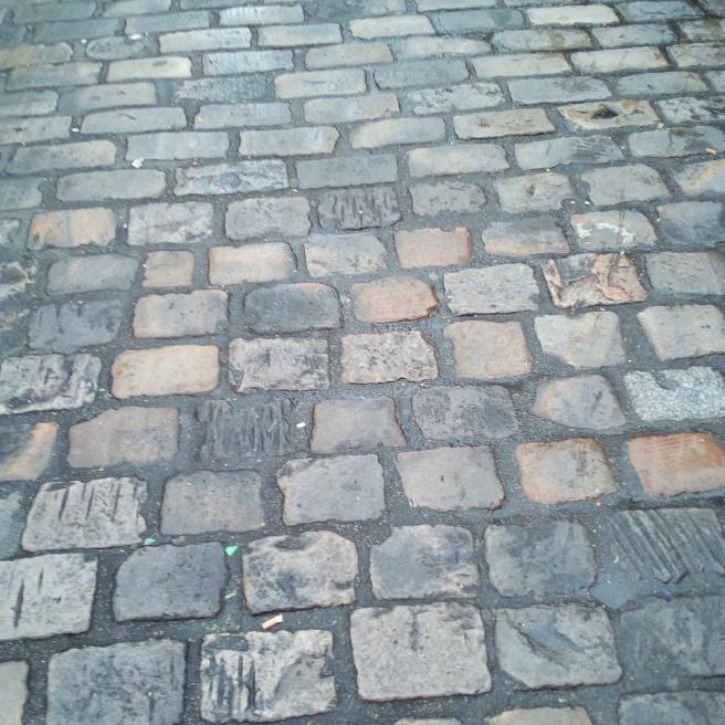 Pavés de la Butte Montmartre, Paris