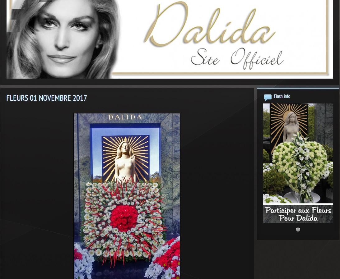 Site officiel Dalida