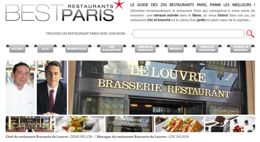 bestrestaurantsparis.com La Brasserie du Louvre