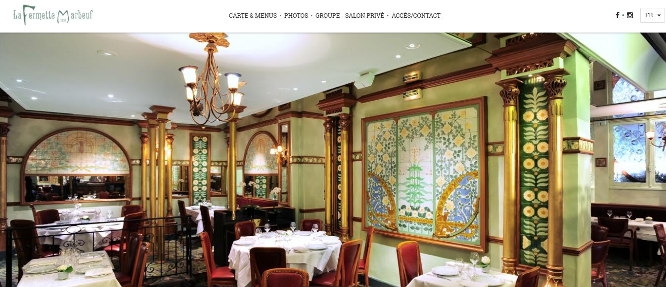 La Fermette Marbeuf Paris