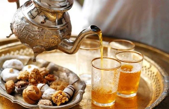 Thé marocain à la menthe