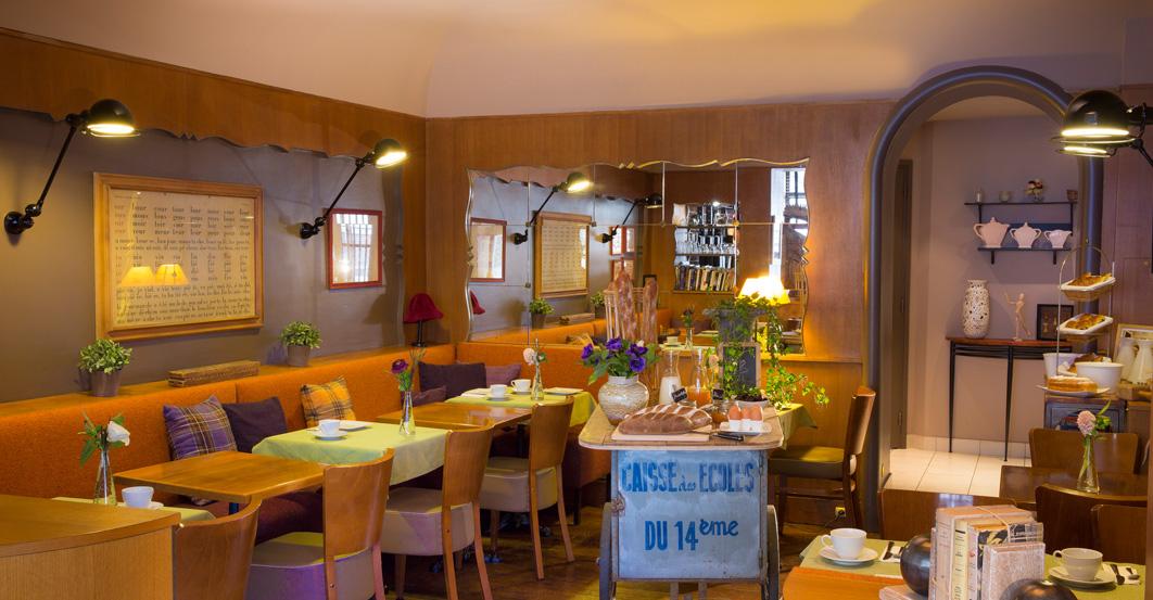 Hôtel de la Paix Montparnasse, le petit déjeuner