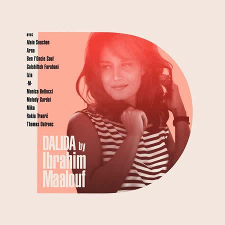 Pochette album Dalida by Ibrahim Maalouf