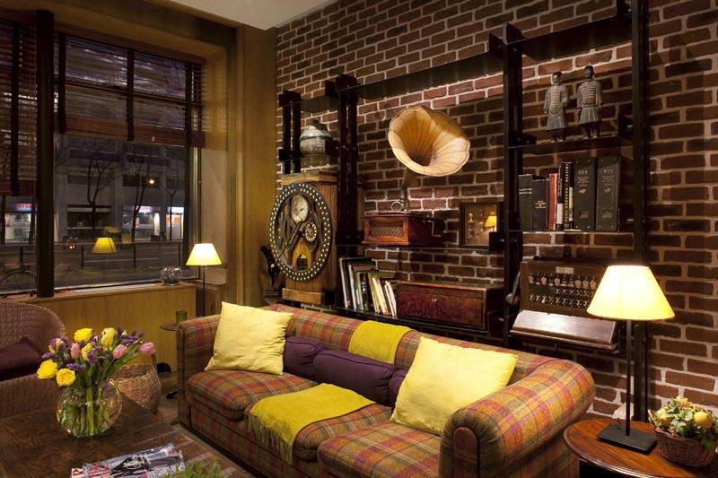 Hôtel de la Paix Montparnasse, le salon