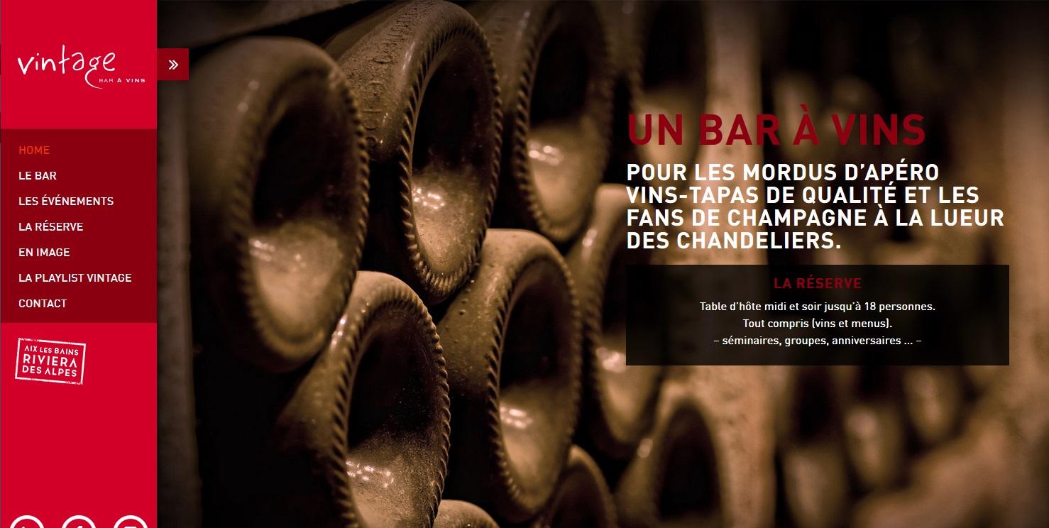 Le Vintage bar à vins Aix-les-Bains