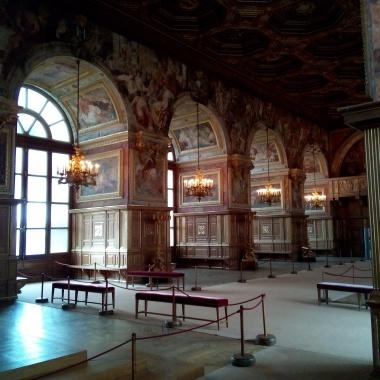 La Salle de bal, Château de Fontainebleau,