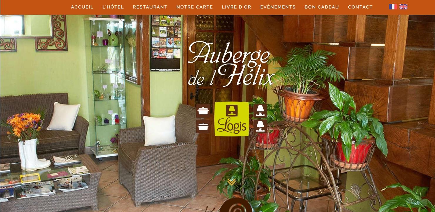 Site de l'Auberge de l'Hélix