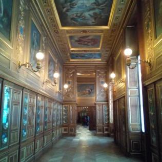 Galerie des assiettes, Château de Fontainebleau