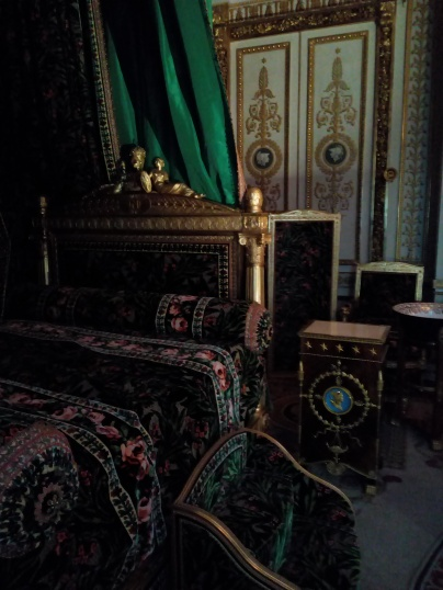 Lit de Napoléon Ier, Château de Fontainebleau