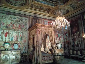 Chambre d'Anne d'Autriche Château de Fontainebleau