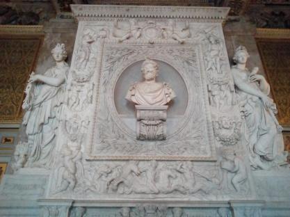 Buste d'Henri IV, Salle des gardes, Château de Fontainebleau