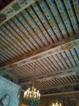 Plafond de la Salle des gardes, Château de Fontainebleau