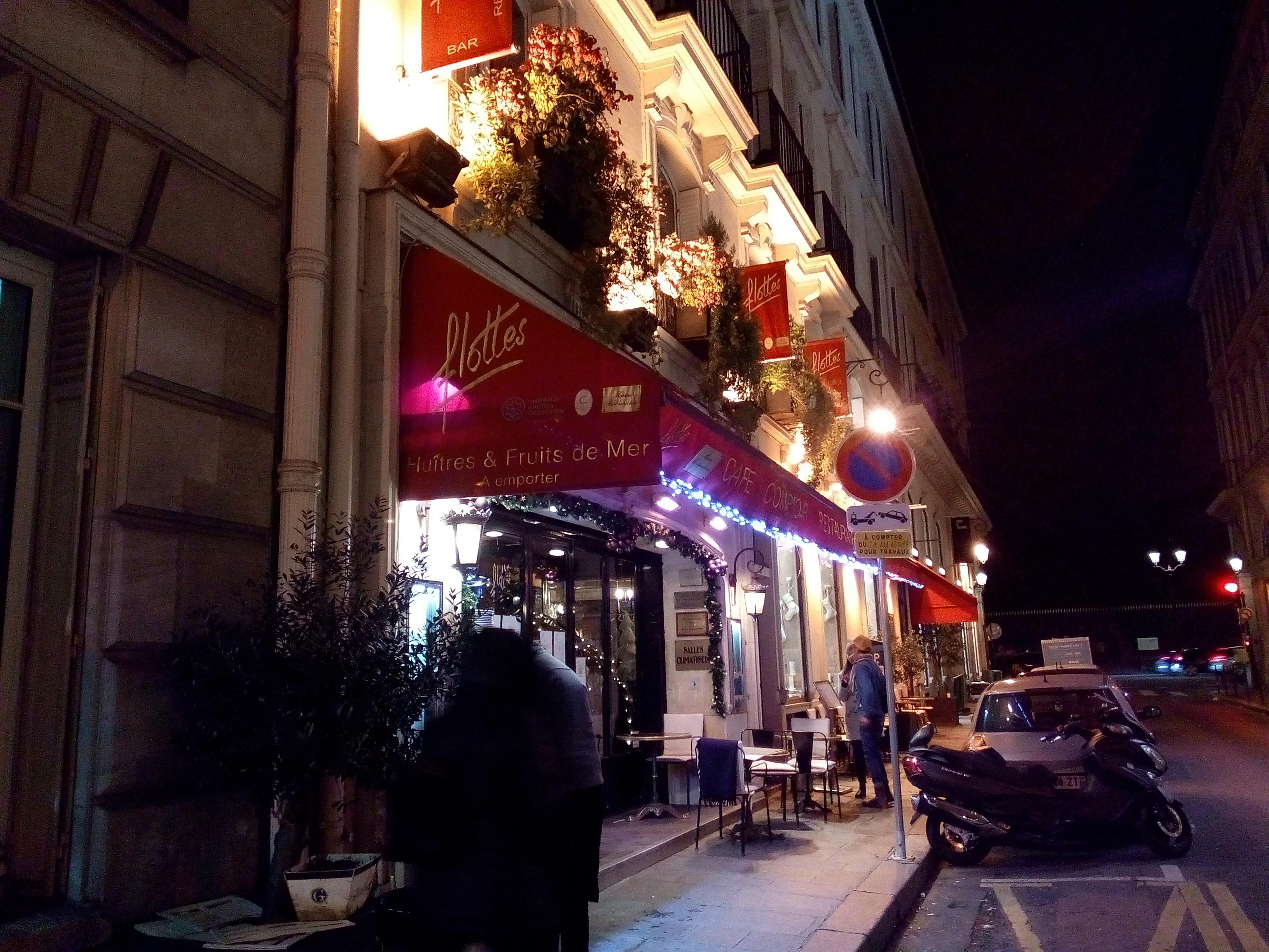 Chez Flottes, rue Cambon, Paris