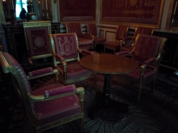 Salon de l'abdication de Napoléon Ier