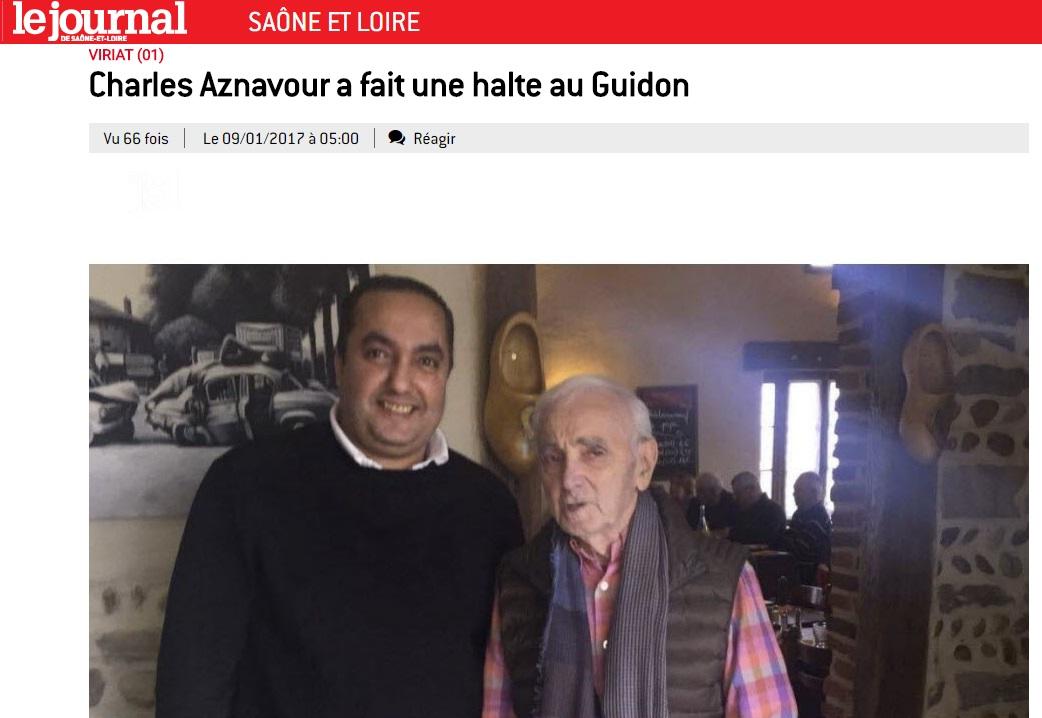 Le Guidon dans le Journal de Saone-et-Loire