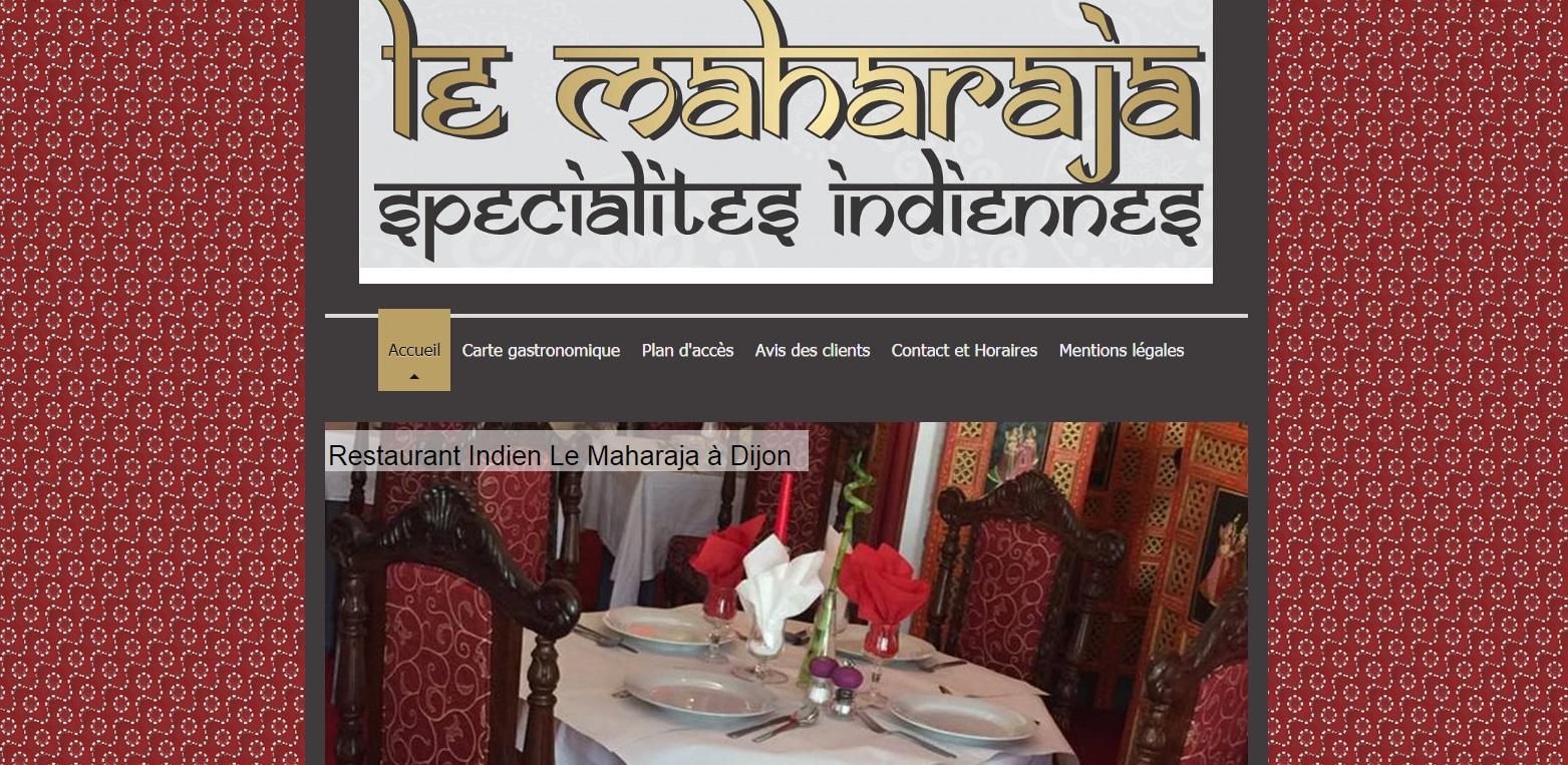 Le Maharaja, restaurant, rue Monge à Dijon