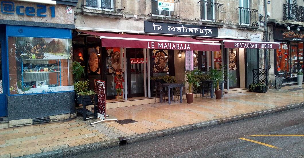 Le Maharaja, rue Monge à Dijon