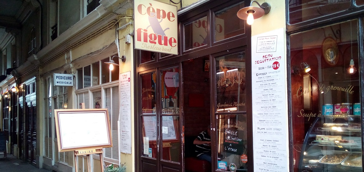 Cèpe et figue, restaurant, 75006 Paris