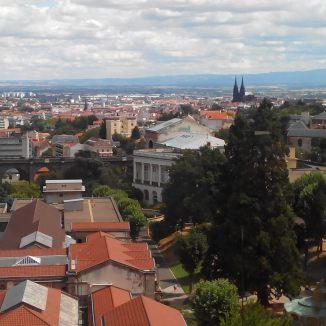 Vue panoramique depuis le 7th Flore à Royat