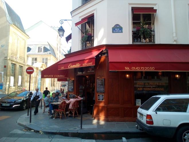 Chez Camille à Paris