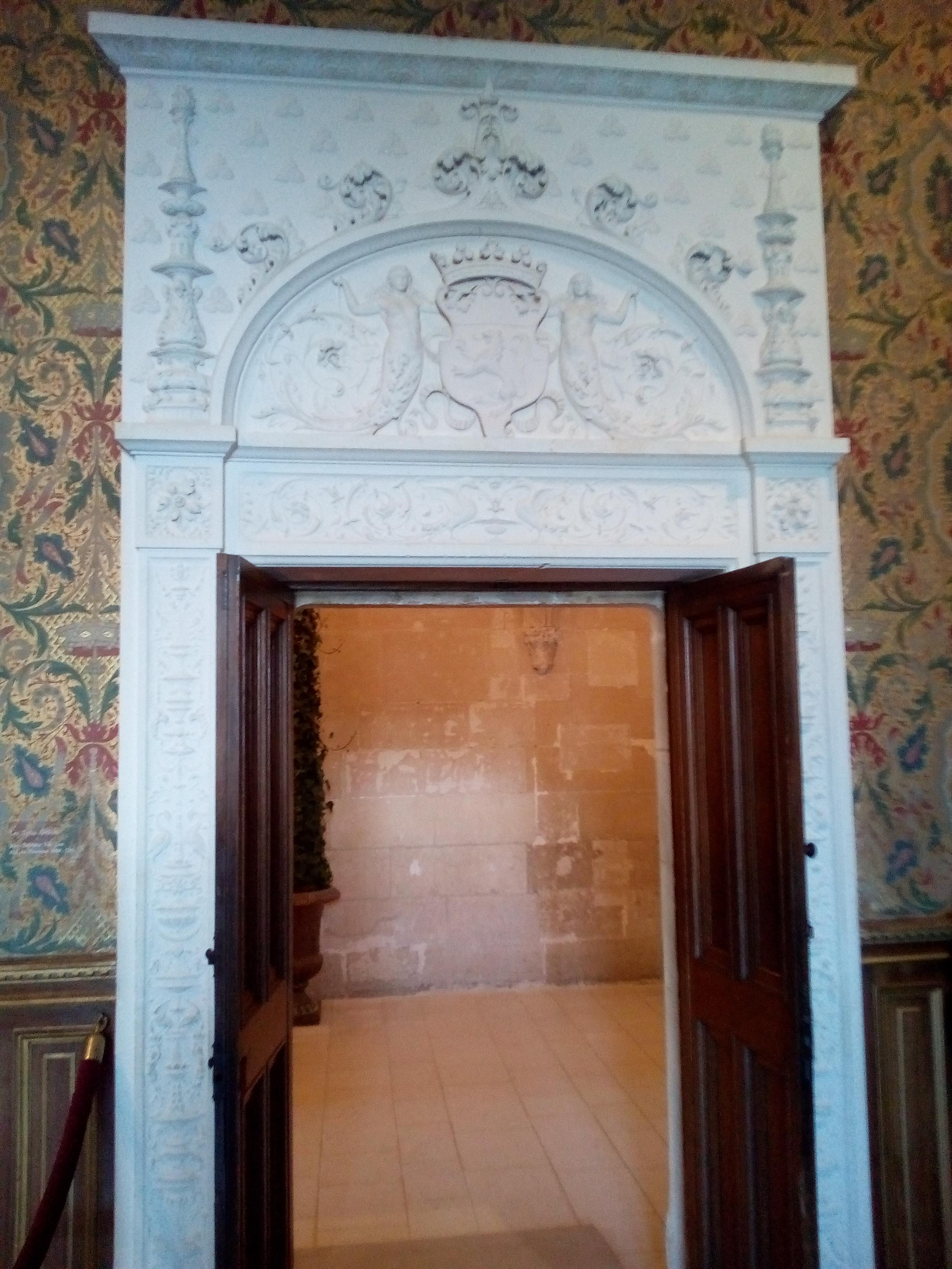 Château de Chenonceau-Salon François Ier