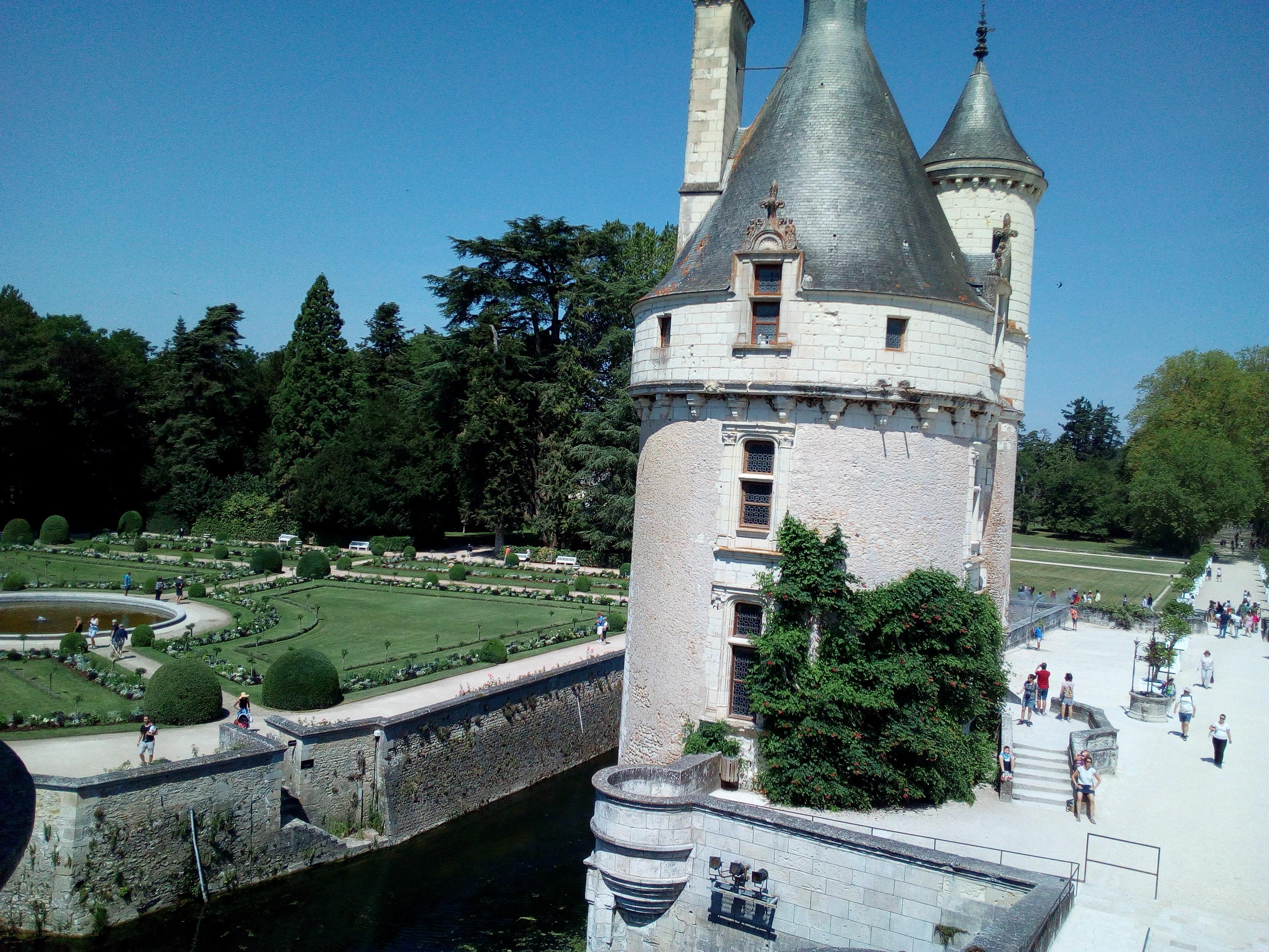 Château de Chenonceau-Jardin Catherine de Médicis