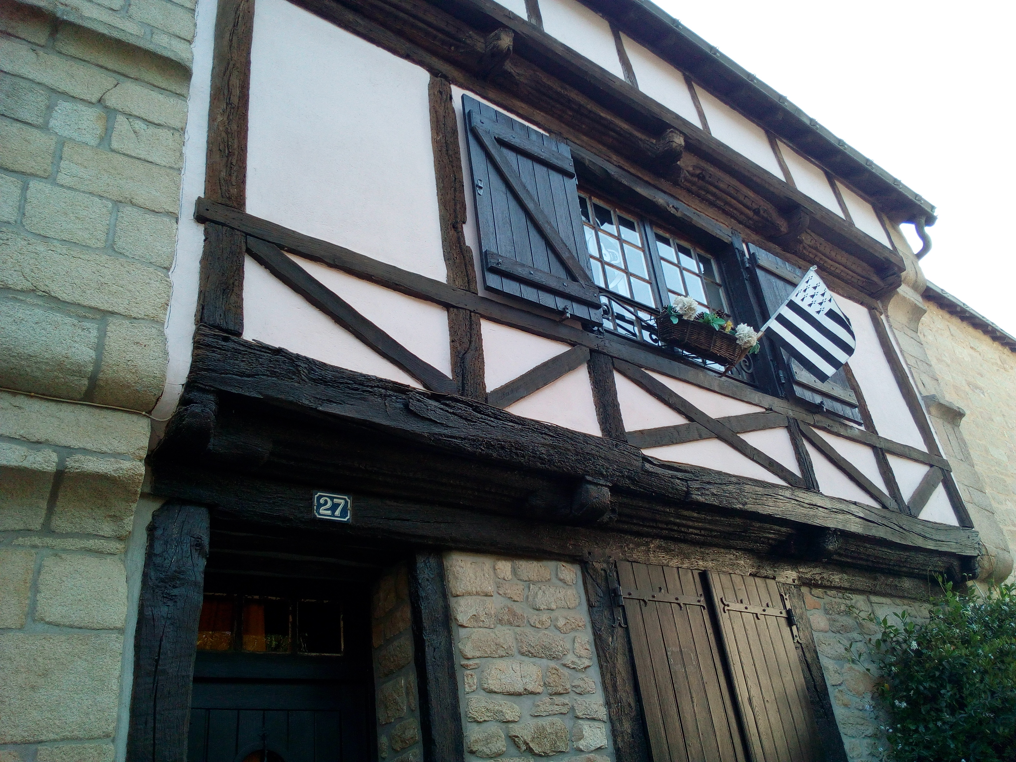 Quartier Saint-Goustan à Auray
