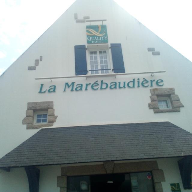 Hôtel la Marebaudière à Vannes
