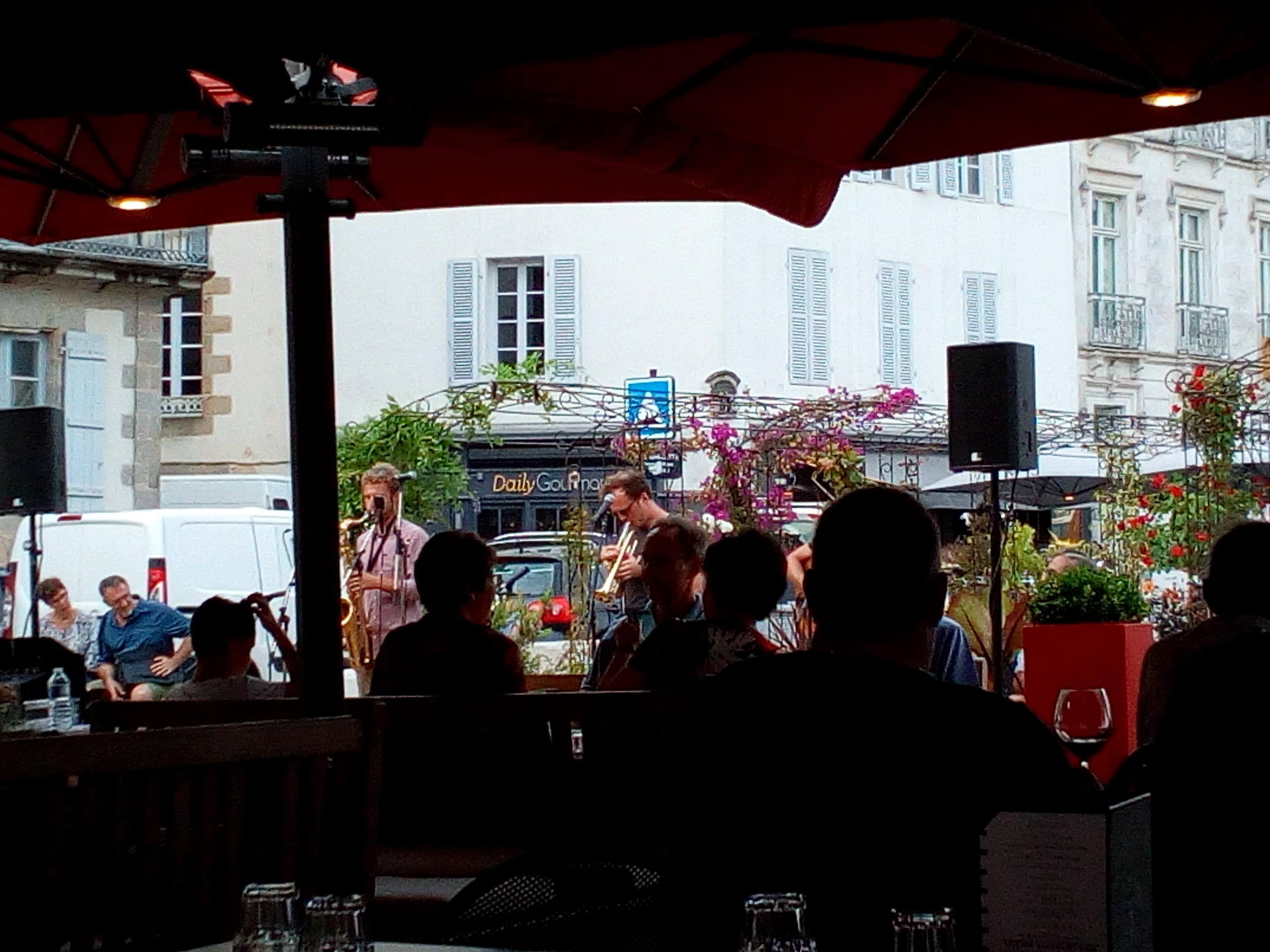 Jazz en ville à Vannes L'Atlantique