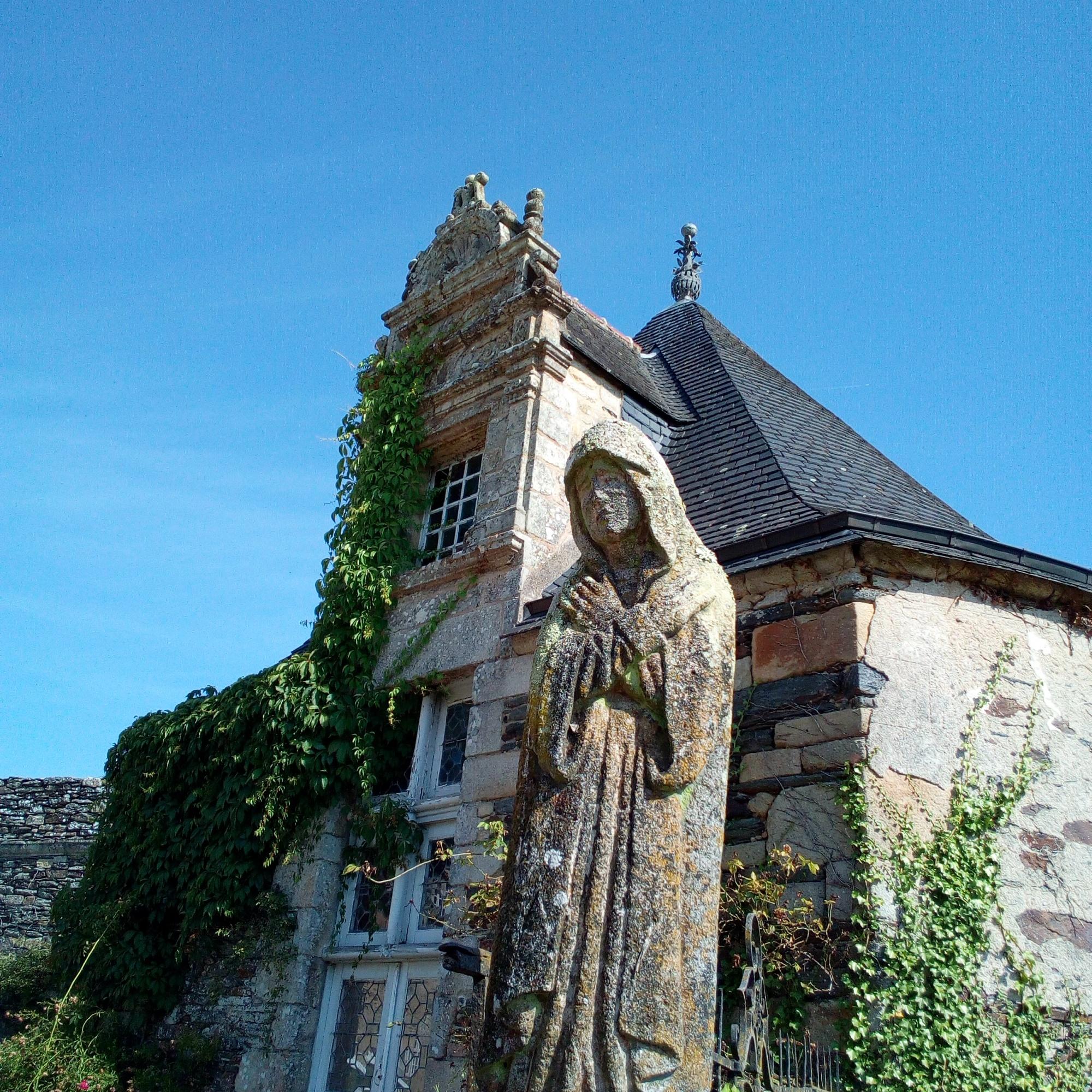 Vue du château de Rochefort-en-Terre
