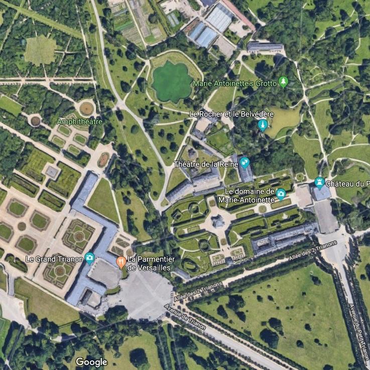 Deux jours à Versailles accès au petit Trianon et au Grand Trianon