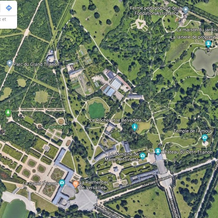 Deux jours à Versailles accès aux Petit Trianon, Grand Trianon et Hameau de la Reine