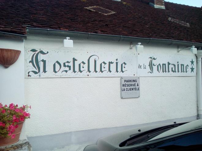 L'Hostellerie de la Fontaine à Accolay