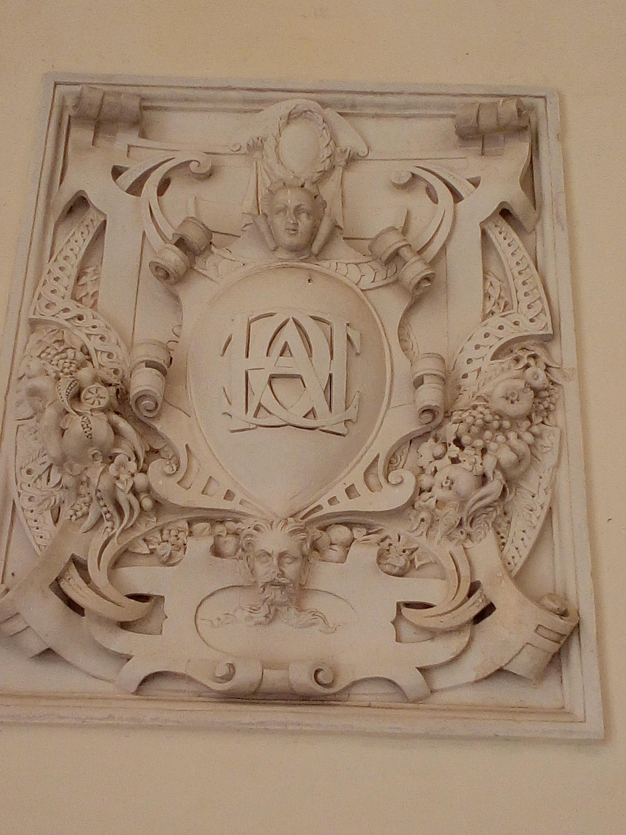 Château d'Ancy-le-Franc monogramme