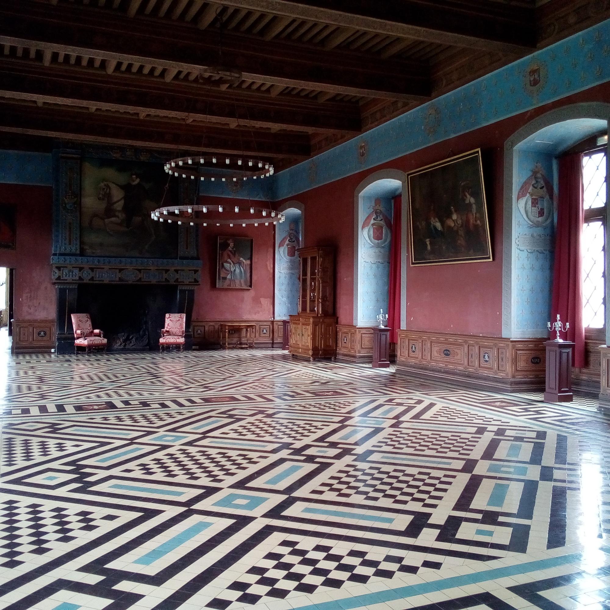 Château d'Ancy-le-Franc salle des Gardes