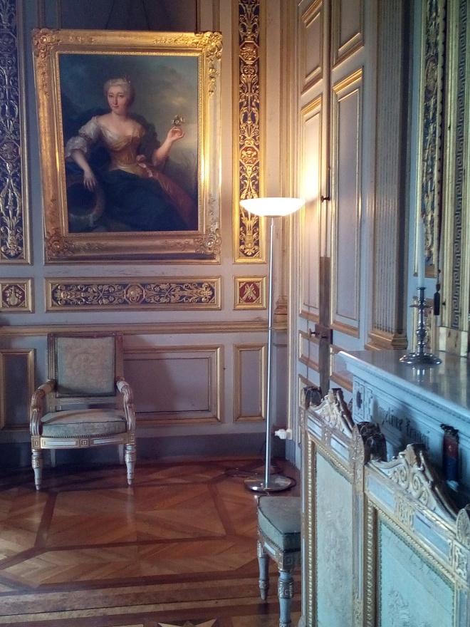 Château d'Ancy-le-Franc le Salon Louvois