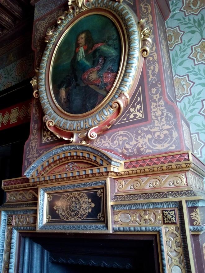 Château d'Ancy-le-Franc le salon des Dauphins