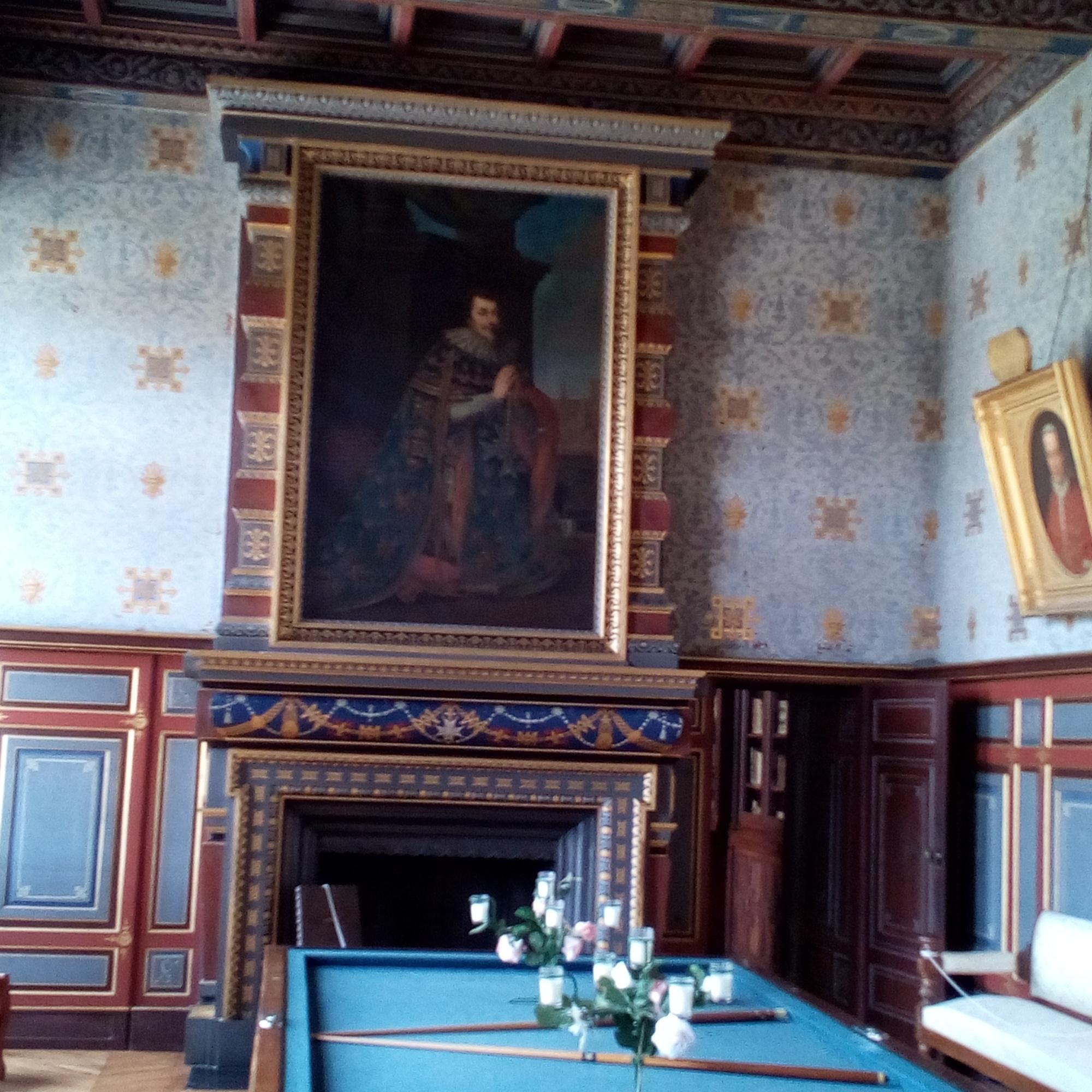 Château d'Ancy-le-Franc Salon du Balcon