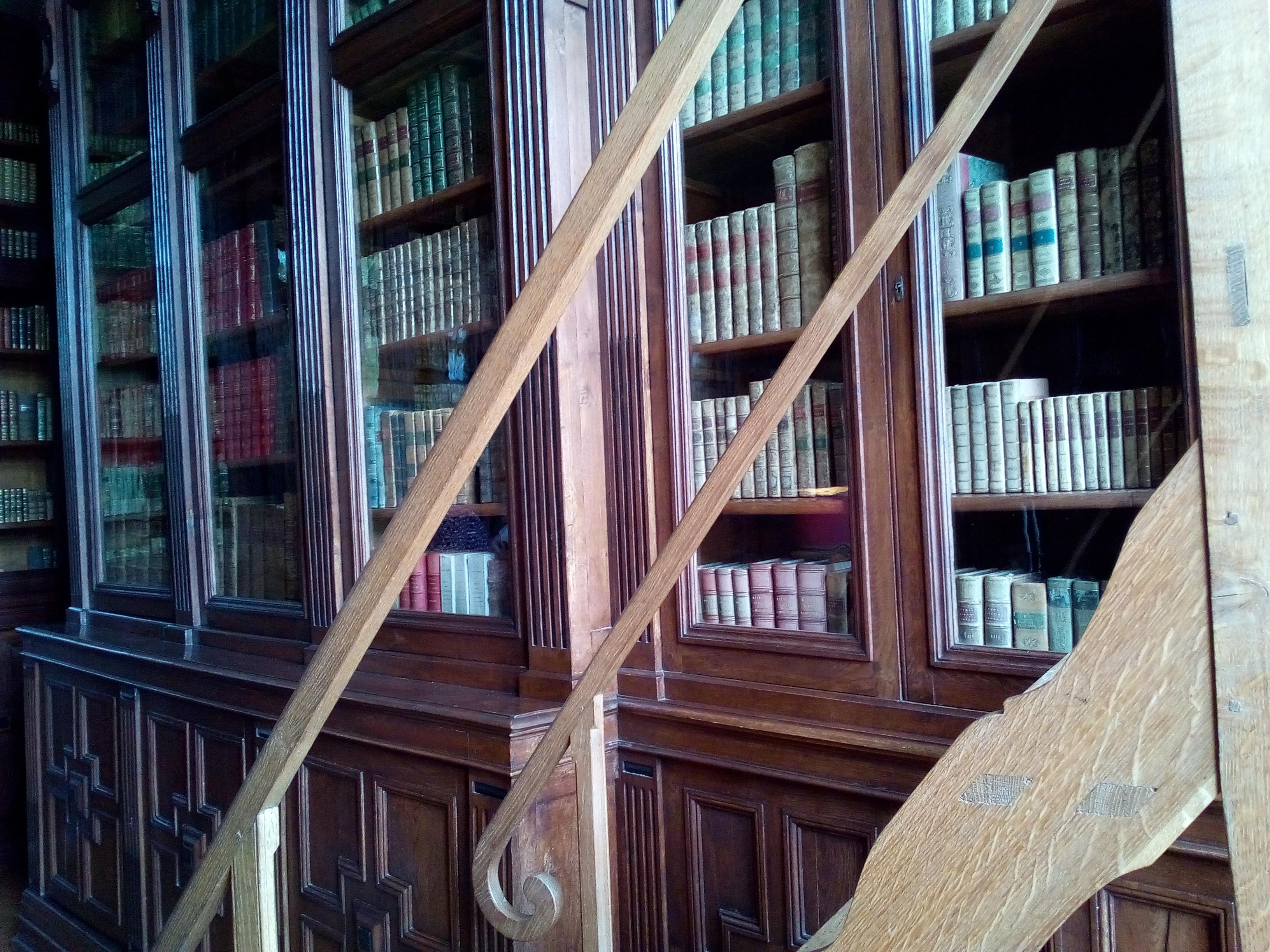 Château d'Ancy-le-Franc la Bibliothèque