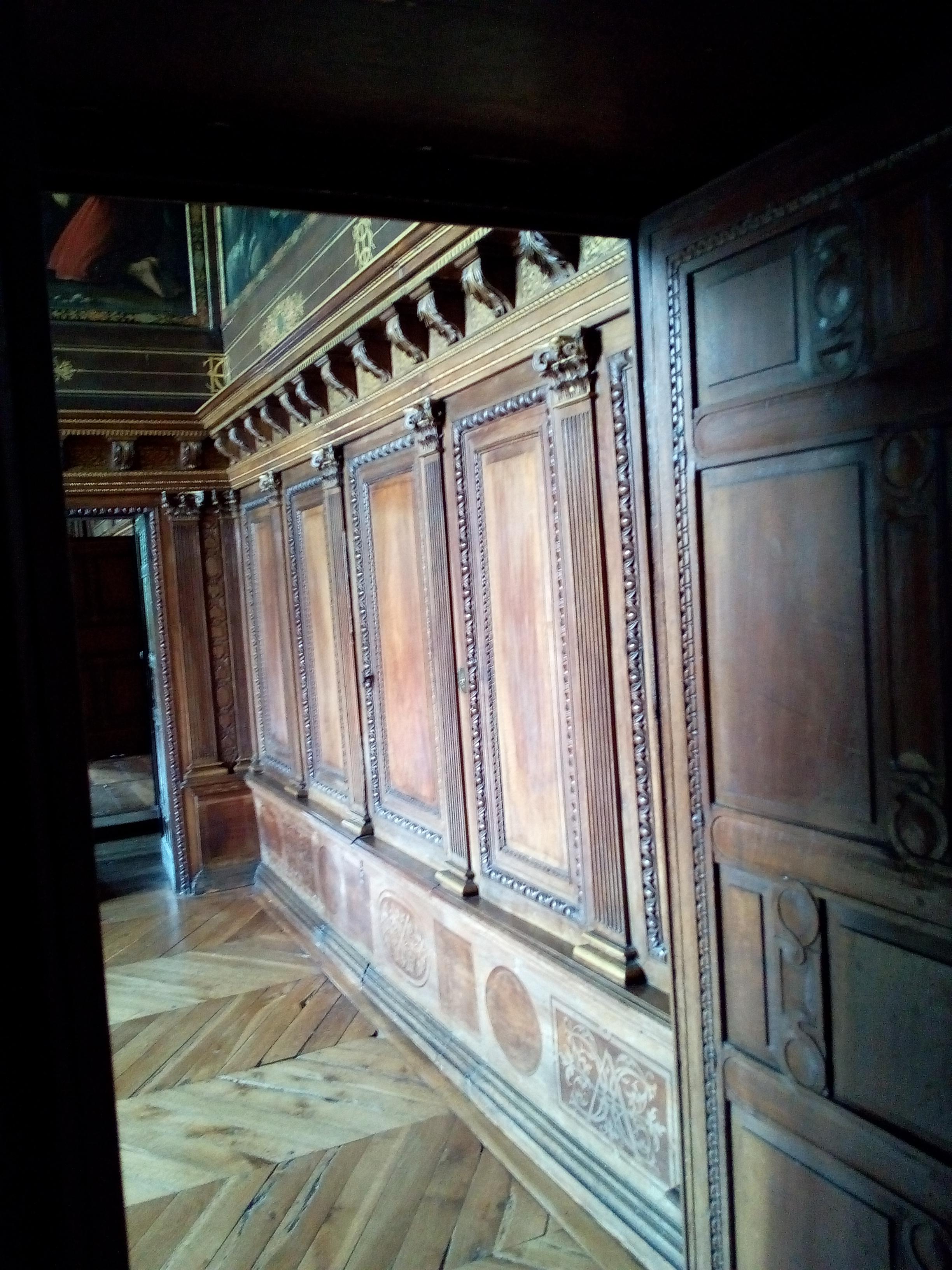 Château d'Ancy-le-Franc le Cabinet Pastor Fido