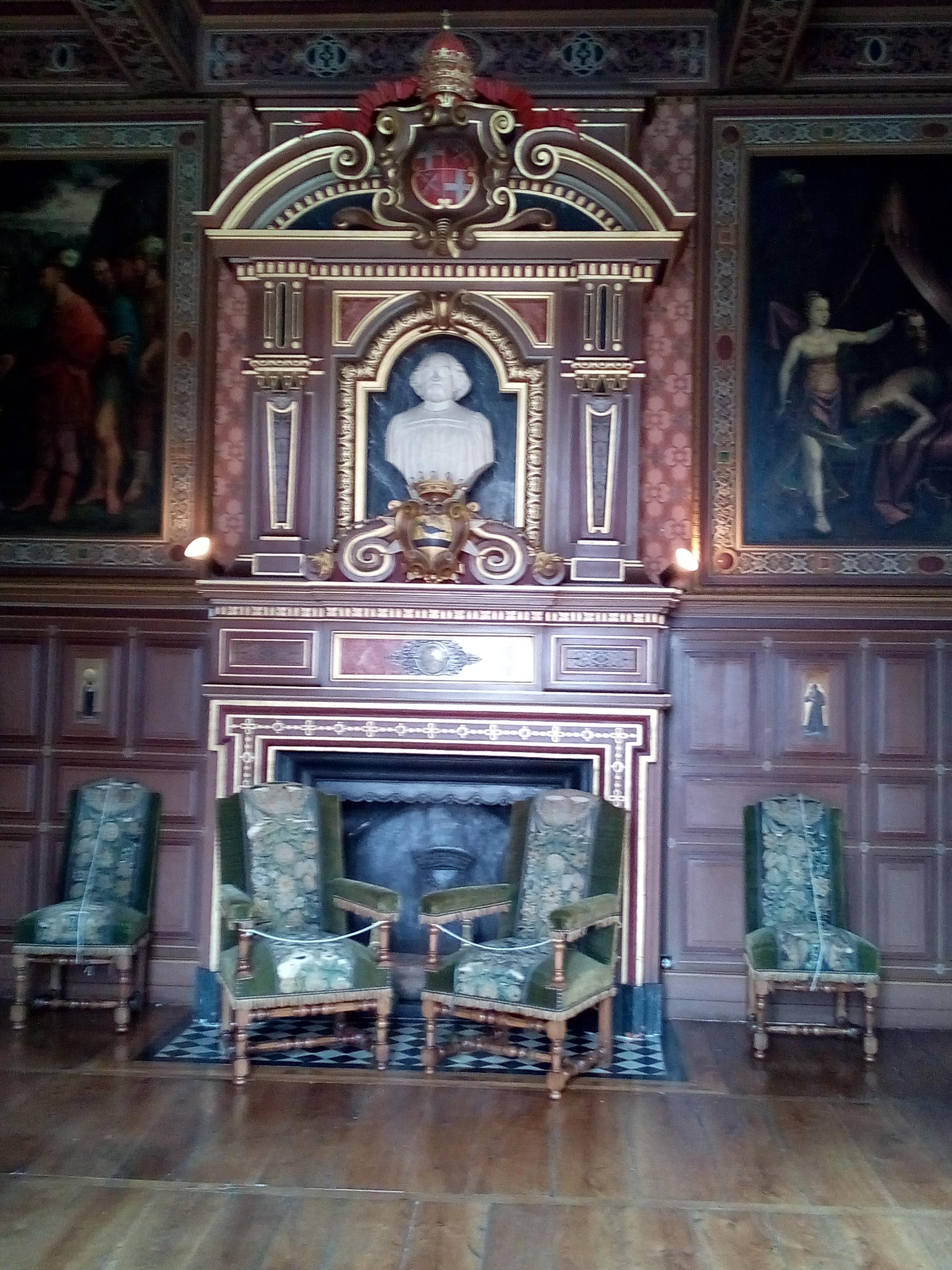 Château d'Ancy-le-Franc la Chambre de Judith