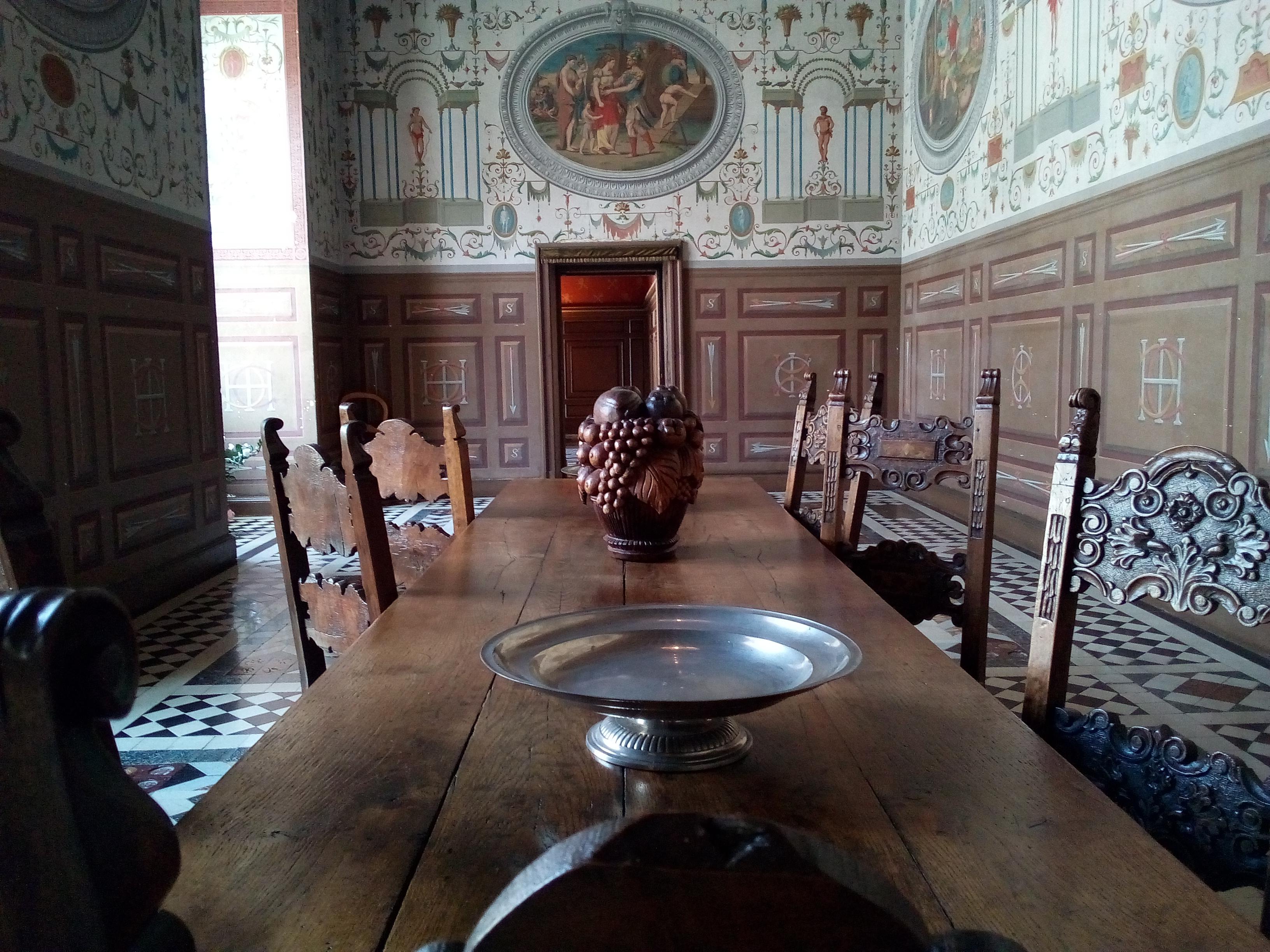 Château d'Ancy-le-Franc la Galerie de Médée