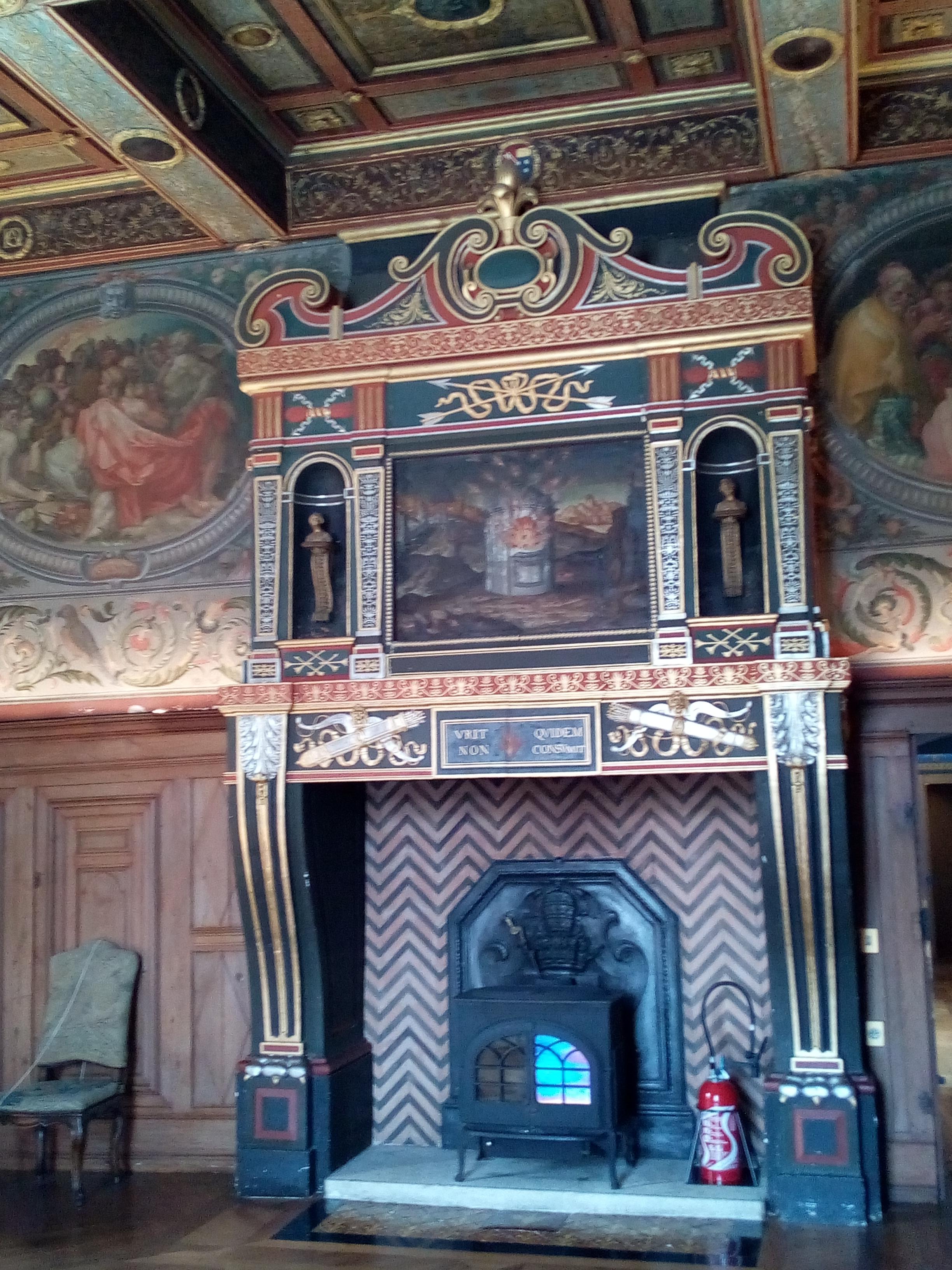 Château d'Ancy-le-Franc la Chambre des Arts