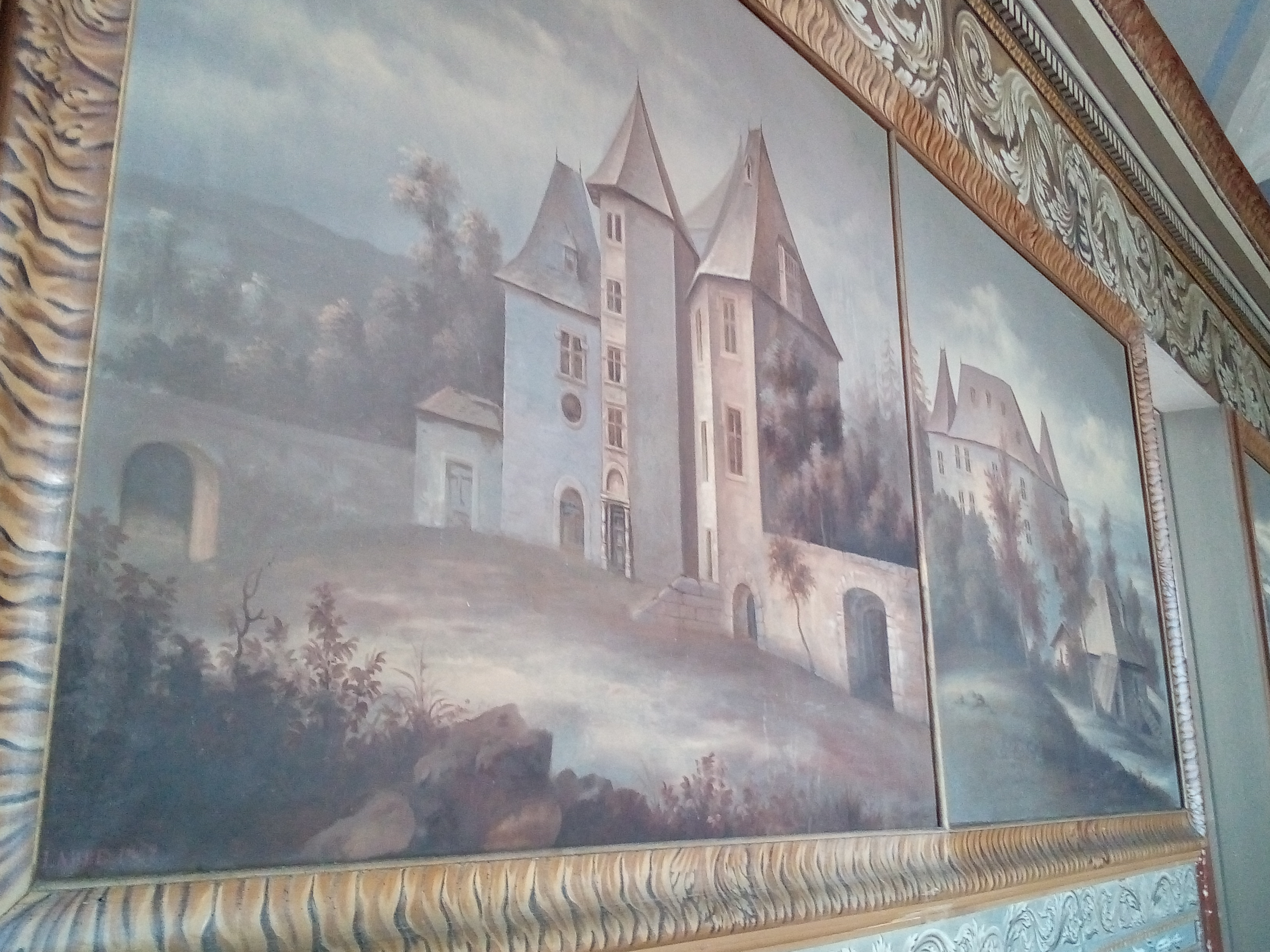 Château d'Ancy-le-Franc le Salle des Archives