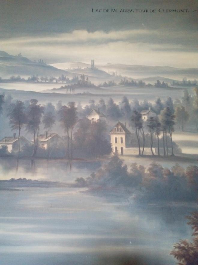 Château d'Ancy-le-Franc Lac de Paladru vu depuis la Tour des Clermont