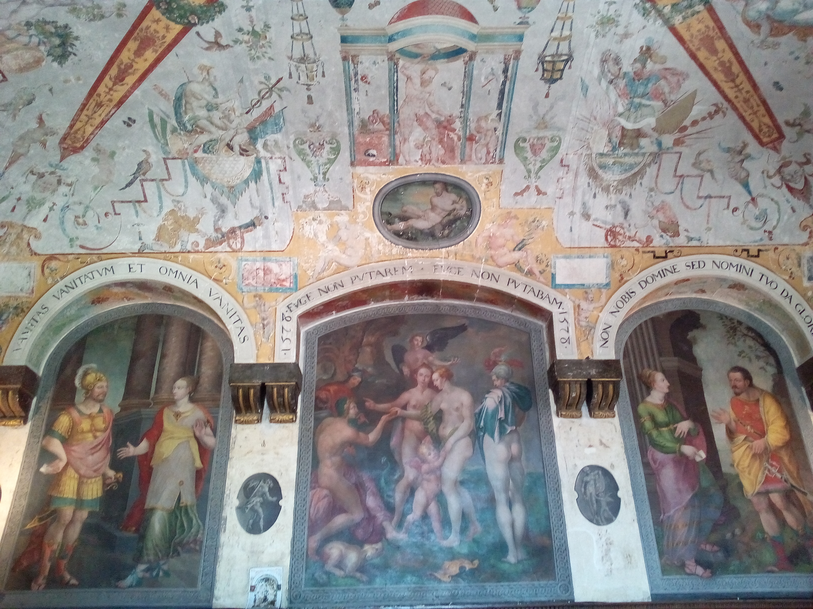 Château d'Ancy-le-Franc la Chambre de Diane