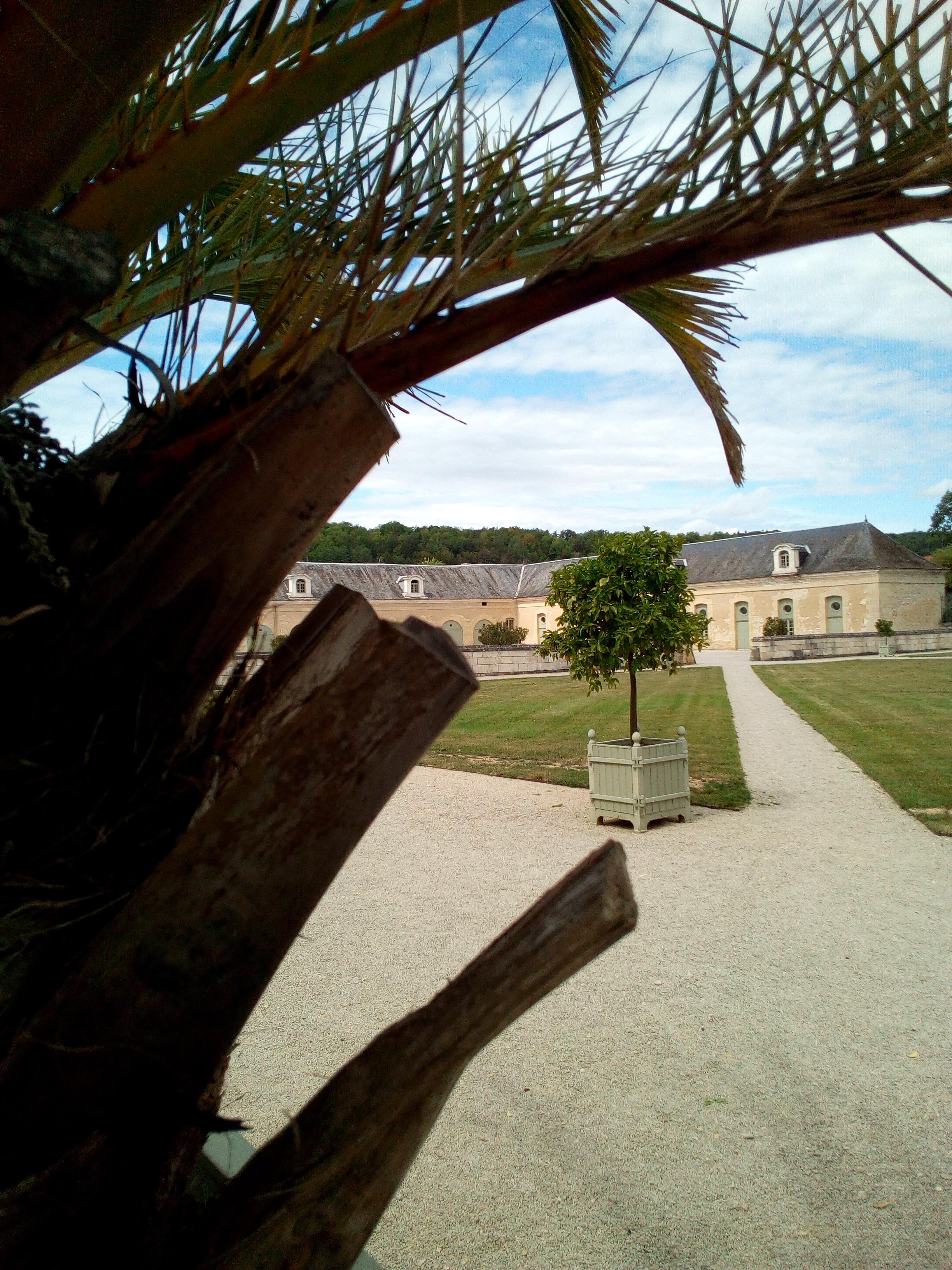 Château d'Ancy-le-Franc les écuries